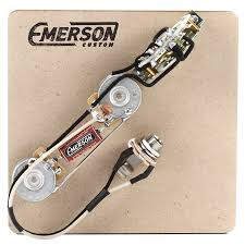 home emerson custom 3 way telecaster prewired kit