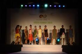 Ms University Fashion Designing The Fashionable Environmentalism Green Fashion Show This