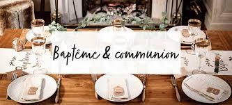 Décoration et accessoires pour baptême et communion : Jour de Fête ...