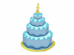 Blue Birthday Cake Transparent Png Clipart Free Download 2nd