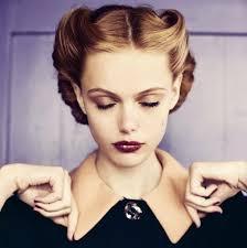 Coiffure Vintage Femme Cheveux Court Cheveux Long