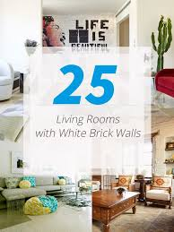 Iu0027m Loving White Brick Walls U2014 Decor8White Brick Wall Living Room