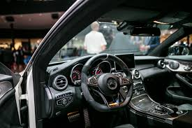 mercedes benz c class coupe interior 01