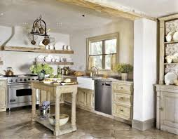 Country Kitchen Designing Country Kitchen With Rustic Island Home Design And Decor