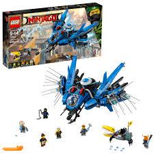 LEGO Ninjago Movie Lightning Jet 70614 (876 Pieces) - Walmart.com - Walmart .com