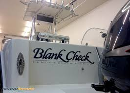 vinyl lettering boat name graphics decals stickers black check ormond daytona ponce inlet new symrna beach flagler