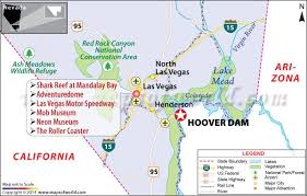 「1936, the Hoover Dam map」の画像検索結果