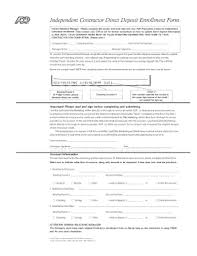 Employee Direct Deposit Authorization Agreement 16 Printable Direct Deposit Authorization Form Adp Templates