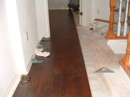 Lowes Mohawk Laminate Flooring Installing In Hallway