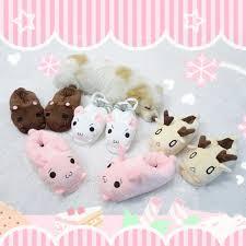 Super <b>Cute</b> Animals Warm Flats <b>Bunny Rabbit Meow Cat Kitty</b> Bear ...