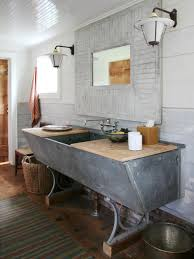 built bathroom vanity design ideas: on a roll ci carrier and company cow trough turned bathroom sink vjpgrendhgtvcom