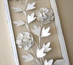 three dimensional wall decor wood flower wall art wall hanging vintage metal art three dimensional floral design 3d wall decoration paper on vintage metal art wall decor with three dimensional wall decor wood flower wall art wall hanging