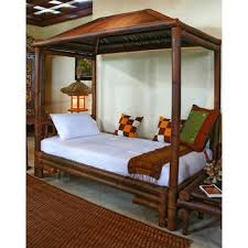 Bamboo Beds for Childrens Room Furnitures - Anak Canopy Bed