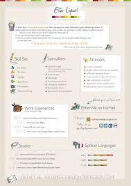 Visual Designer Resume Awesome Graphic Design Clean Creative