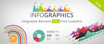 Beautiful Infographic Elements Psd For Free Download