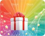 Яркие подарки на день рождения