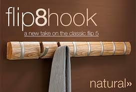Umbra Flip Hook Coat Rack Umbra Flip 100 Hook flip down the hooks when needed MIKESHOUTS 34
