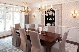 wainscoting dining room. Wainscoting Dining Room Traditional With Dark Stained Wood Polyester Single Panel Curtains