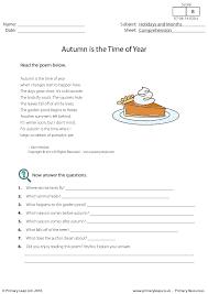 38 FREE September Worksheets for Your ESL Classes