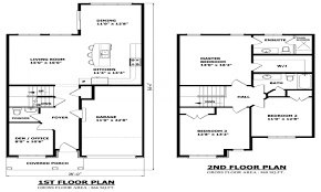 floor house plans two story unique blueprints design modern 2 level