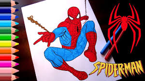 Don't forget to rate and comment if you interest with this spiderman coloring pages youtube ideas. Spiderman Coloring Pages For Kids How To Color Spiderman Coloring Book Youtube