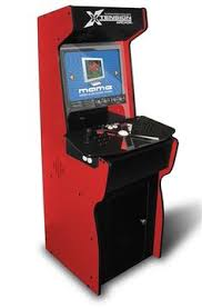 red xtension arcade cabinet for the x arcade tankstick i so want this