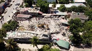 tropical storm hits earthquake zone ...