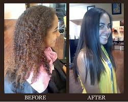 the treatment lasts for weeks again depending on the after every shoo the hair is easily managed and set in a much shorter time