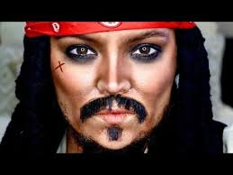 capn jack sparrow makeup tutorial transformation brianna fox you