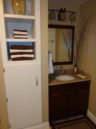 Built In Bathroom Cabinets - Home Design