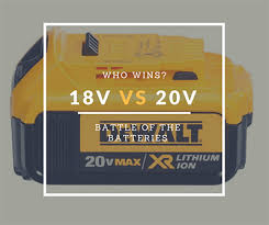 Ryobi Battery Comparison Chart 20v Max Vs 18v Batteries Which Is More Powerful Cdz