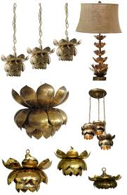 nice lotus pendant light gold lotus hanging pendant lamp in india home decor ideas and