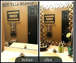 Decorative Tile Frames making decorative mirrored frames Small Home Ideas 48