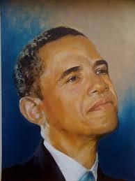 president oil painting from black art in america
