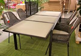 size outdoor furniture patio reviews ikea ammero table ikeaammerotable ikea ammero table