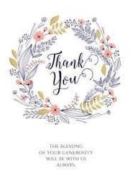 Free Printable Thank You Cards Thank You Notes Greetings