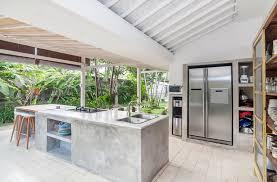 outdoor kitchen stainless steel countertops design ideas