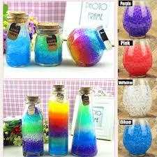 Decorative Vase Filler Balls 100g Colorful Magic Pearl vase filler Shaped Crystal Soil Water 94