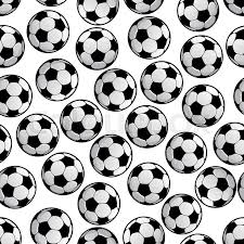 Soccer Ball Pattern Adorable Sporting Seamless Pattern Of Football Or Soccer Balls For Sport