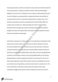 research report on alcopops psy biopsychology learning  essay 1 of drugs across cultures