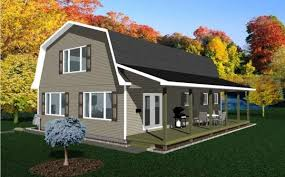 gambrel roof house plans. Barn Roof House Plans Gambrel M
