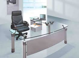 office table with glass top. Glass Office Desk Furniture Table With Top F