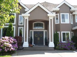 Exterior House Paint Ideas Using Dark And Bright Colors The New