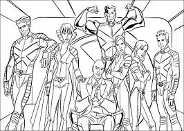 Small Picture Marvel X Men Coloring Pages Free Coloring Pages For Kids