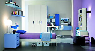 blue and purple bedrooms for girls. Wonderful Girls Exciting Blue And Purple Bedrooms For Teenage Girls Study Room Interior  With Gallery In N