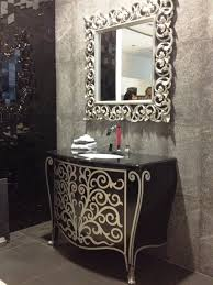 silver framed bathroom mirrors. Home Interior: Happy Silver Framed Bathroom Mirror Gorgeous 0 Ideas Carved And Single From Mirrors L