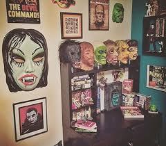 Ghoulsville Horror Decor Mask