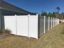 Image White Vinyl Westchester Fence Company Vinyl Fence Outlet Sarasota Superior Fence
