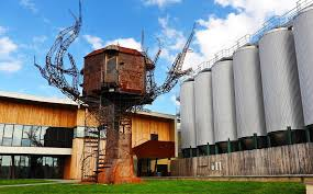 treehouse masters brewery. When You Pull Up To Dogfish Head In Milton, DE Just Might Notice Our Off-centered, Retro-futuristic Sculpture The Steampunk Tree House. Treehouse Masters Brewery