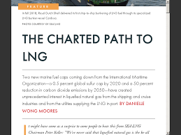 The Charted Path To Lng